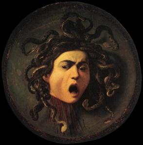 Medusa by Caraviggo 1595